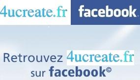 retrouvez 4ucreate.fr, blog de la personnalisation sur facebook